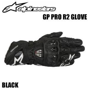 【Alpinestars(アルパインスターズ)】 GP PRO R2 GLOVE ブラック GPプロ R2 グローブ  サイズ:S、M、L、XL、2XL、3XL BK ライディンググローブ バイクグロー|teito-shopping