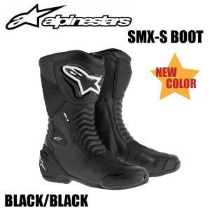 ★送料無料★【Alpinestars(アルパインスターズ)】 SMX S BOOT? ブーツ 1100 BK/BK 28(24.0?)〜48(31.5?) 【NEW COLOR [ブラック/ブラック サイズ:24.0cm〜3|teito-shopping