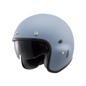 【4909449454077】【DAYTONA(デイトナ)】 Hattrick パイロットヘルメット PH-1 マットグレー Mフリーサイズ <br>【パイロットタイプヘルメットの|teito-shopping