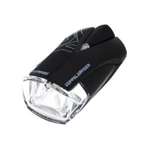 ドッペルギャンガー ロードトレースセンサーライトプロ DLF314-BK 自動明るさ制御ADCセンサー搭載 200ルーメン 最大連続点灯時間10時間 USB充電 防滴仕様の商品画像|ナビ