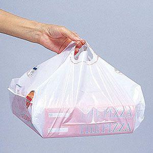 SKバッグ 14インチ(ピザボックス用手さげビニール袋)100枚入り|teito-shopping