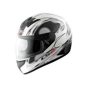 【LS2】 ブラスト (BLAST) ダイヤモンドホワイト フルフェイスヘルメット UVカットシールド・バイザー標準装備 【SG規格取得・MFJ公認】|teito-shopping