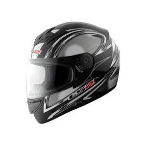 【LS2】 ブラスト (BLAST) ダイヤモンドブラック フルフェイスヘルメット UVカットシールド・バイザー標準装備 【SG規格取得・MFJ公認】|teito-shopping