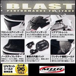 【送料無料】【LS2】 ブラスト (BLAST) ダイヤモンドブラック フルフェイスヘルメット UVカットシールド・バイザー標準装備 【SG規格取得・MFJ公認】 teito-shopping 03