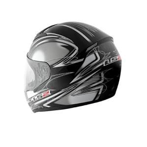 【LS2】 ブラスト (BLAST) ダイヤモンドブラック フルフェイスヘルメット UVカットシールド・バイザー標準装備 【SG規格取得・MFJ公認】|teito-shopping|02