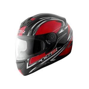 【LS2】 ブラスト (BLAST) ダイヤモンドレッド フルフェイスヘルメット UVカットシールド・バイザー標準装備 【SG規格取得・MFJ公認】|teito-shopping