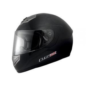 【LS2】 マーズ (MARS) メタリックブラック フルフェイスヘルメット UVカットシールド・バイザー標準装備 【SG規格取得・公道走行可】|teito-shopping