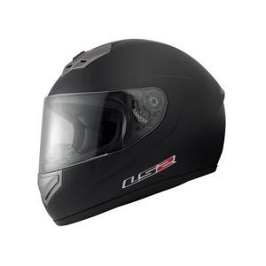 【LS2】 マーズ (MARS) マットブラック フルフェイスヘルメット UVカットシールド・バイザー標準装備 【SG規格取得・公道走行可】|teito-shopping