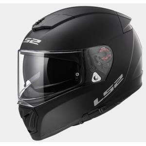 【送料無料】【LS2(エルエスツー)】 国内正規品 SG認定 フルフェイスヘルメット BREAKER(ブレーカー) マットブラック インナーバイザー付 ピンロックシ|teito-shopping