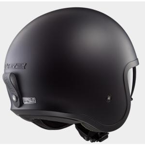 【LS2(エルエスツー)】 国内正規品 SG認定 インナーバイザー付 ジェットヘルメット SPITFIRE(スピリットファイヤ) ソリッドカラータイプ レトロ 【レト teito-shopping 03