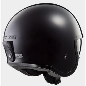 【LS2(エルエスツー)】 国内正規品 SG認定 インナーバイザー付 ジェットヘルメット SPITFIRE(スピリットファイヤ) ソリッドカラータイプ レトロ 【レト teito-shopping 04