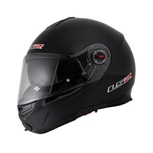 【LS2】 ジーマックライド (G-MAC-RIDE) ブラックメタリック システムヘルメット UVカットシールド・バイザー標準装備 【SG規格取得・公道走行可】|teito-shopping
