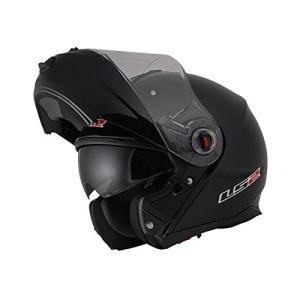【LS2】 ジーマックライド (G-MAC-RIDE) ブラックメタリック システムヘルメット UVカットシールド・バイザー標準装備 【SG規格取得・公道走行可】|teito-shopping|02