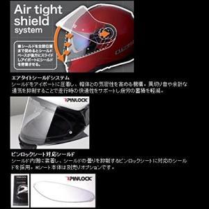 【送料無料】【LS2】 ジーマックライド (G-MAC-RIDE) レッドメタリック システムヘルメット UVカットシールド・バイザー標準装備 【SG規格取得・公道走行可】|teito-shopping|04