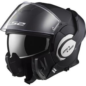 LS2 エルエスツー   SG認証 システムヘルメット VALIANT バリアント 日本正規品 S-XXL マットブラック 14089602-6|teito-shopping