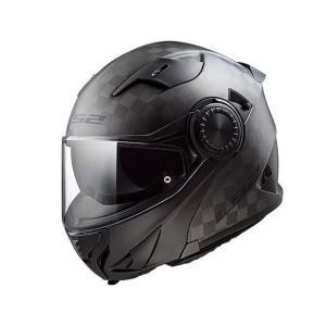 送料無料  LS2 エルエスツー   SG認証 カーボンシステムヘルメット VORTEX ボルテックス 日本正規品 S-XXL carbon|teito-shopping