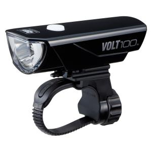 【キャットアイ(CAT EYE) 】 ヘッドライト [VOLT100] リチウムイオン充電池 USB充電 ボルト100 YPJ-R【QQ1RIN001001】|teito-shopping