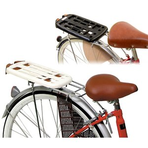 OGK技研  自転車後ろ用荷台ベース 日本製 B-2 FCベース台  アイボリー、グレー、ブラック カゴをワンタッチで取り外し フリーキャリーシステムをご使用いた|teito-shopping