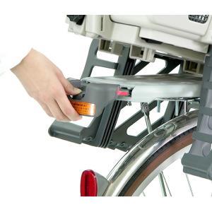 OGK技研  自転車後ろ用荷台ベース 日本製 B-2 FCベース台  アイボリー、グレー、ブラック カゴをワンタッチで取り外し フリーキャリーシステムをご使用いた|teito-shopping|03