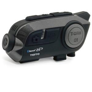 TEITO  バイク用 2K高画質カメラ付きインカム S-11 ドライブレコーダー WIFI搭載 角...
