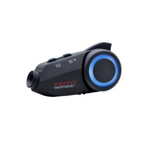 送料無料 TEITO  MAXTO バイク用カメラ付きインカム M3 ドライブレコーダー FM 1080P WIFI搭載 ドラレコ 6人通話 ブルートゥ|teito-shopping