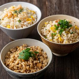 糖質制限 糖質50%オフ 低糖質でおいしいご飯 お試し3種セット 米飯 ごはん 食事制限 置き換え ...