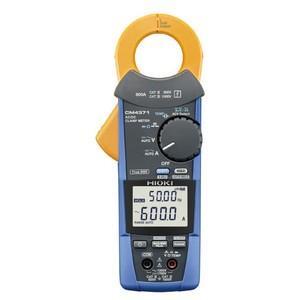 ●電流、電圧、抵抗、周波数、検電など多彩な項目の測定が可能です。 ●突入電流(INRUSH)の実効値...