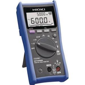 日置電機 HIOKI DT4255 デジタルマルチメータ 電圧測定端子にヒューズ付タイプ 『DT4255日置』 『4255日置』|tekarimasenka