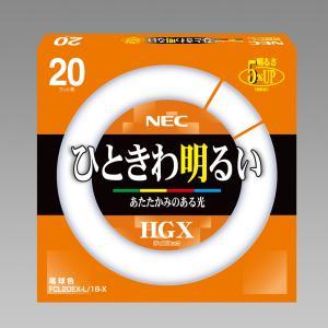 NEC 10本入 FCL20EX-L/18-X 3波長形電球...