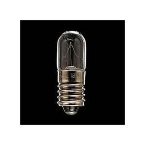 東芝 HPL18V0.11AT10E10 E10口金 配電盤表示用電球 2W 『HPL18V011AT10E10』