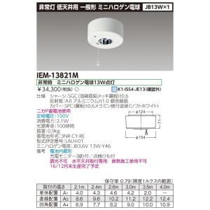 ☆【アウトレット商品】 ※未使用・未開封品 1台限り! 東芝 IEM-13821M (2017年製)  非常用照明器具  『IEM13821M』|tekarimasenka