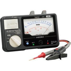 日置電機 HIOKI  IR4013-10 単レンジ絶縁抵抗計 スイッチなしテストリード付 500V  『IR401310日置』|tekarimasenka
