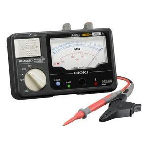 日置電機 HIOKI IR4030-11 3レンジ絶縁抵抗計 スイッチ付リードセット 25、50、125V  『IR403011日置』|tekarimasenka