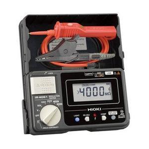 日置電機 HIOKI   IR4051-11   5レンジ絶縁抵抗計 スイッチ付リード付属 50/125/250/500/1000V 『IR405111』|tekarimasenka