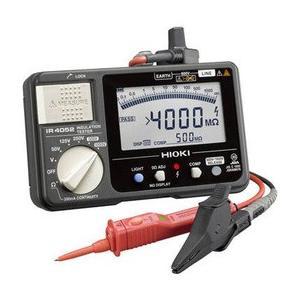 日置電機 HIOKI   IR4052-11   5レンジ絶縁抵抗計 スイッチ付リード付属 50/125/250/500/1000V 『IR405211』 tekarimasenka
