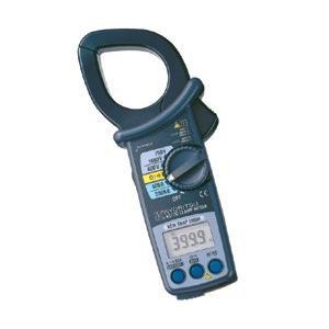 ●交直両用の大口径クランプ ●AC/DC2000Aまでの測定が可能 ●AC/DCの電圧、抵抗の測定が...