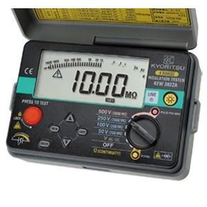 共立電気計器 KEW3022A デジタル式 4レンジ絶縁抵抗計 50V/100V/250V/500V 『3022A』|tekarimasenka