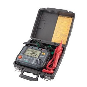 共立電気計器 KEW3125A 『3125A』 高圧絶縁抵抗計 250V/500V/1000V/2500V/5000V|tekarimasenka
