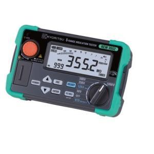 共立電気計器 KEW3552 デジタル絶縁抵抗計 50/100/125/250/500/1000V メモリ機能付 『3552共立』『KYORITSU』|tekarimasenka