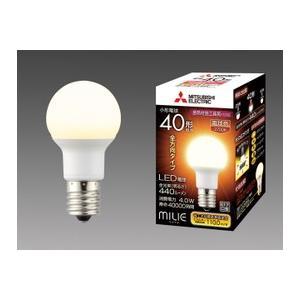 三菱電機 LDA4L-G-E17/40/S-PS 電球色 LEDランプ 断熱材施工対応 全方向 小型電球40形 口金E17 『LDA4LGE1740SPS』|tekarimasenka