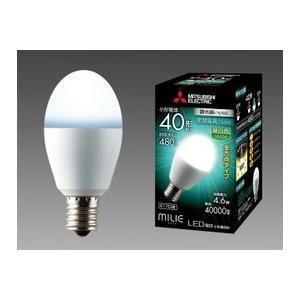 三菱電機 10個入 LDA5N-G-E17/40/D/S 昼白色 LEDランプ 調光器対応 全方向 小型電球40形 口金E17  『LDA5NGE1740DS』|tekarimasenka