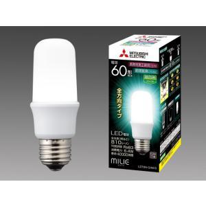 三菱電機 LDT6N-G/60/S LEDランプ 昼白色 T型 一般電球60形 口金E26 『LDT6NG60S』|tekarimasenka