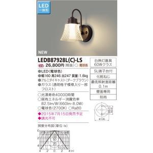 メーカー在庫限品 東芝 LEDB87928L(C)-LS (LEDB87928LCLS) LED屋外ブラケット|tekarimasenka