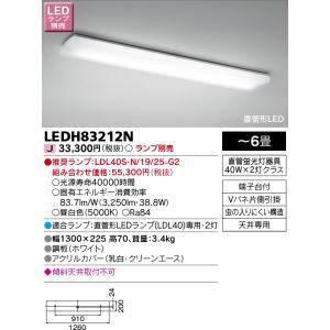 東芝 LEDH83212N   LEDキッチンライト ランプ別売り|tekarimasenka