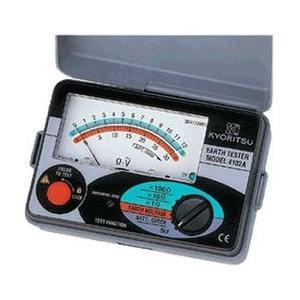 共立電気計器 MODEL4102A 『4102A』 接地抵抗計 アナログアーステスタ ソフトケース付|tekarimasenka