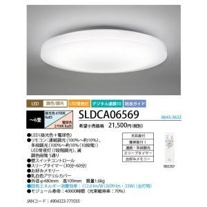 NEC SLDCA06569 LEDシーリングライト6畳  ...