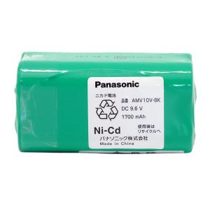 [200円割引クーポンあり] Panasonic (パナソニック) AMV10V-8K 充電式掃除機用電池