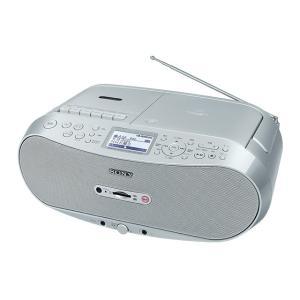 [割引クーポンあり]SONY (ソニー) CFD-RS501 CDラジオカセット メモリーレコーダー