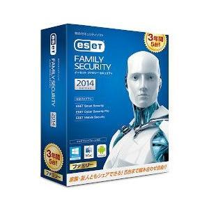 [割引クーポンあり]キヤノンITソリューションズ CITS-ES07-006 ESET ファミリー セキュリティ 3年版