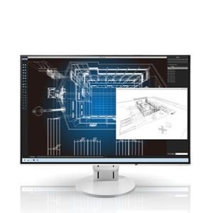 [200円割引クーポンあり]EV2456-WT 24.1型カラー液晶モニター ホワイト FlexScan(4辺フレームレス・フルフラット・無段階調整スタンド・DVI-D24ピン/DisplayPort|telaffy